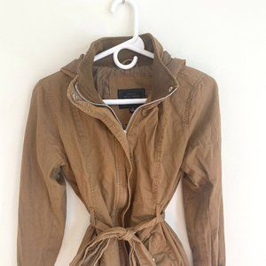 Light Brown Fall Jacket with Pockets!
